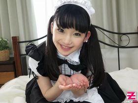 Японская горничная сделает все, что пожелает ее Господин!