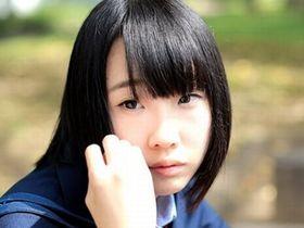 Стеснительная японка Рин Аоки трахается в школьной форме